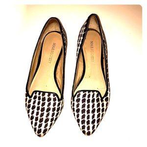 Black & White Flats - Size 4.5